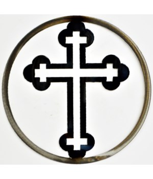"CROSS 9"" Round Art"