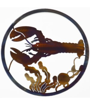 "Lobster 9"" Round Art"