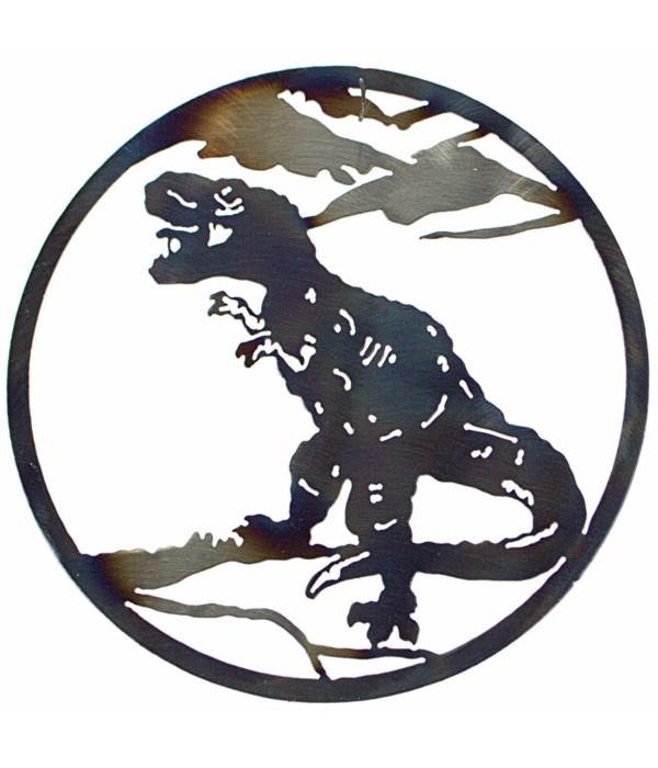 """T Rex 12"""" Round Art"""