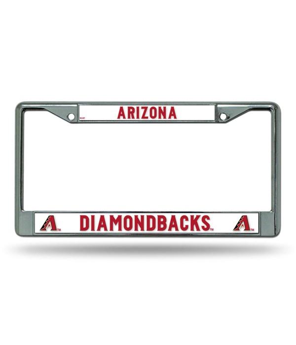 AZ DIAMONDBACKS CHROME FRAME