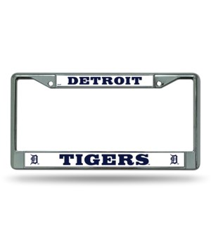 DET TIGERS CHROME FRAME