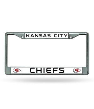 KC CHIEFS CHROME FRAME