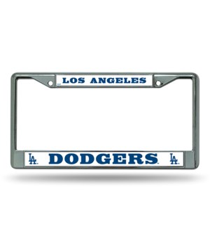 LA DODGERS CHROME FRAME
