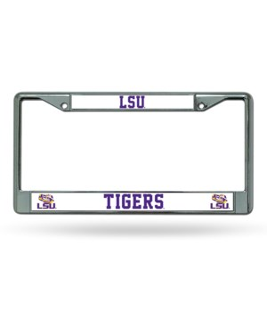 LSU TIGERS CHROME FRAME