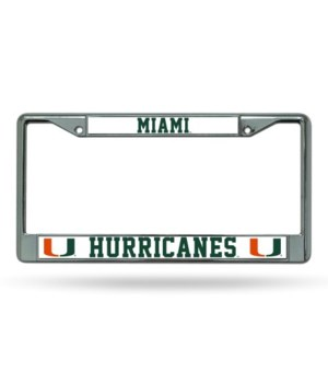 MIA HURRICANES CHROME FRAME