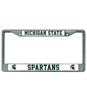 MICH STATE CHROME FRAME