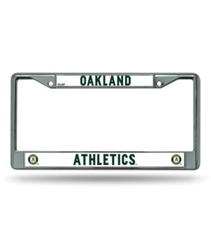 OAK A'S CHROME FRAME