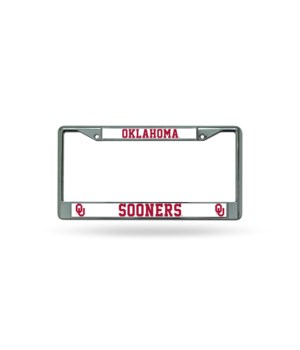 OK SOONERS CHROME FRAME