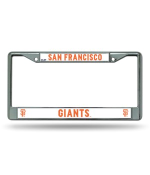 SF GIANTS CHROME FRAME