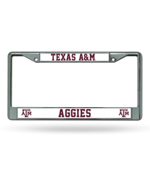 TEXAS A&M CHROME FRAME