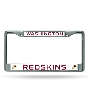 W REDSKINS CHROME FRAME