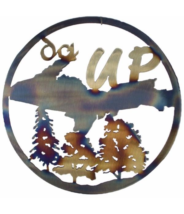 """The Da UP 12"""" Round Art"""