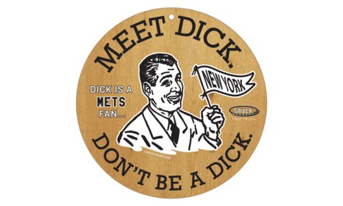 "Meet Dick 10""-MLB"