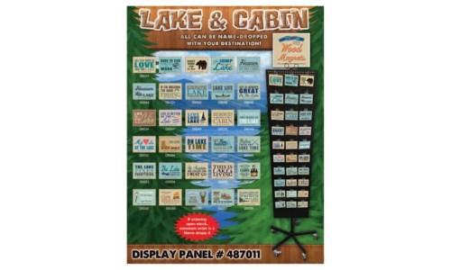 Lake & Cabin