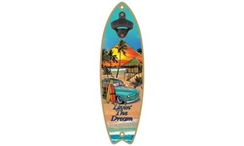 5x15 Surfboard Bottleopener
