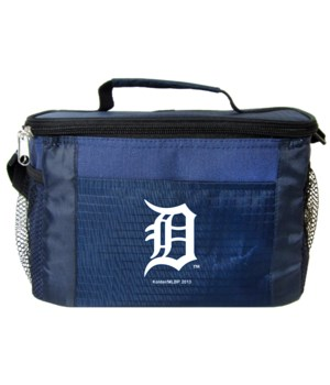 6PK COOLER - DET TIGERS