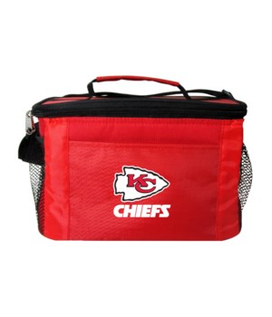 6PK COOLER - KC CHIEFS