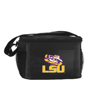 6PK COOLER - LSU TIGERS