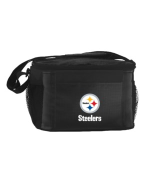 6PK COOLER - PITT STEELERS
