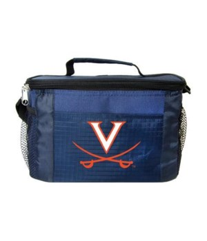 6PK COOLER - UNIV OF VIRGINIA