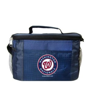6PK COOLER - WASH NATIONALS