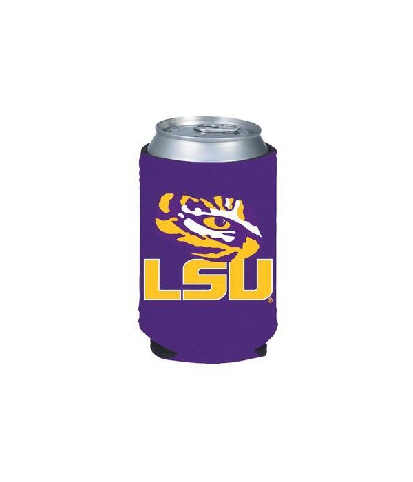LSU TIGERS COLLAPSIBLE COOLIE
