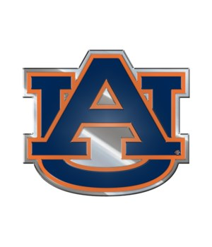COLOR AUTO EMBLEM - AUBURN TIGERS