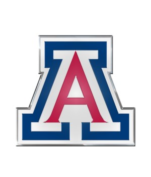COLOR AUTO EMBLEM - ARIZ WILDCATS