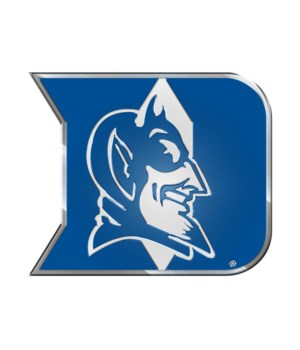 COLOR AUTO EMBLEM - DUKE BLUE DEVILS