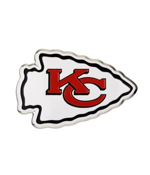 COLOR AUTO EMBLEM - KC CHIEFS