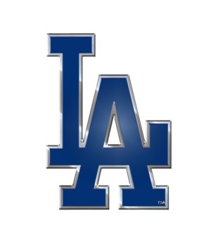 COLOR AUTO EMBLEM - LA DODGERS