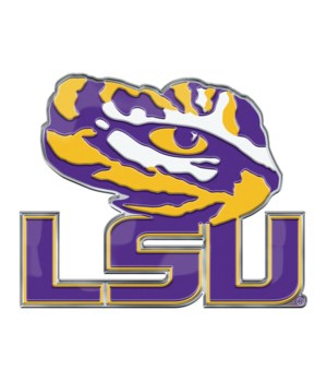COLOR AUTO EMBLEM - LSU TIGERS