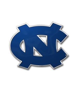COLOR AUTO EMBLEM - NC TARHEELS