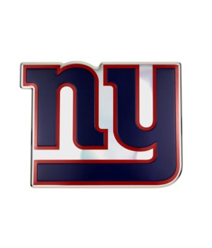 COLOR AUTO EMBLEM - NY GIANTS