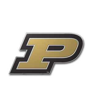 COLOR AUTO EMBLEM - PURDUE