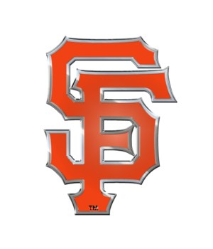 COLOR AUTO EMBLEM - SF GIANTS
