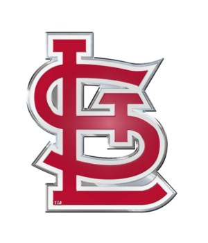 COLOR AUTO EMBLEM - ST LOUIS CARDINALS