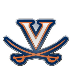 COLOR AUTO EMBLEM - UNIV OF VIRGINIA CAV