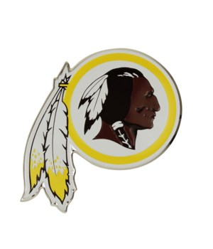 COLOR AUTO EMBLEM - WASH REDSKINS