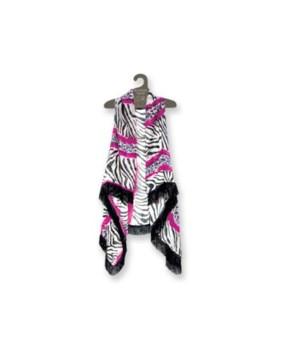 Finge/Tassel vests Zebra/Leopard Pat.