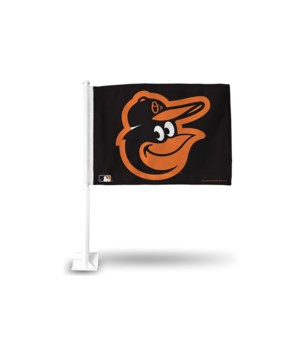 CAR FLAG - BALT ORIOLES