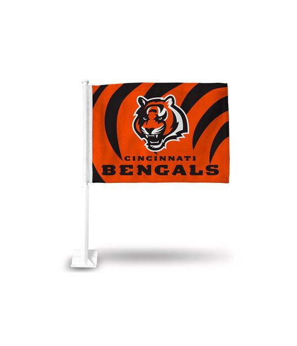 CAR FLAG - CINN BENGALS