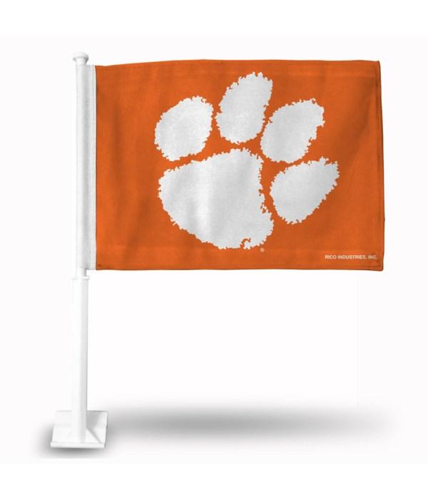 CAR FLAG - CLEMSON TIGERS