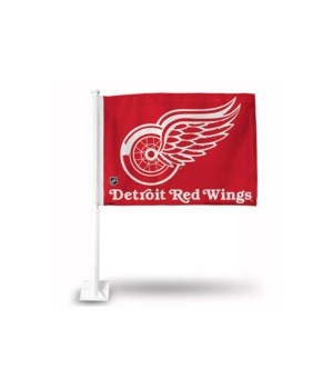 CAR FLAG - DET REDWINGS