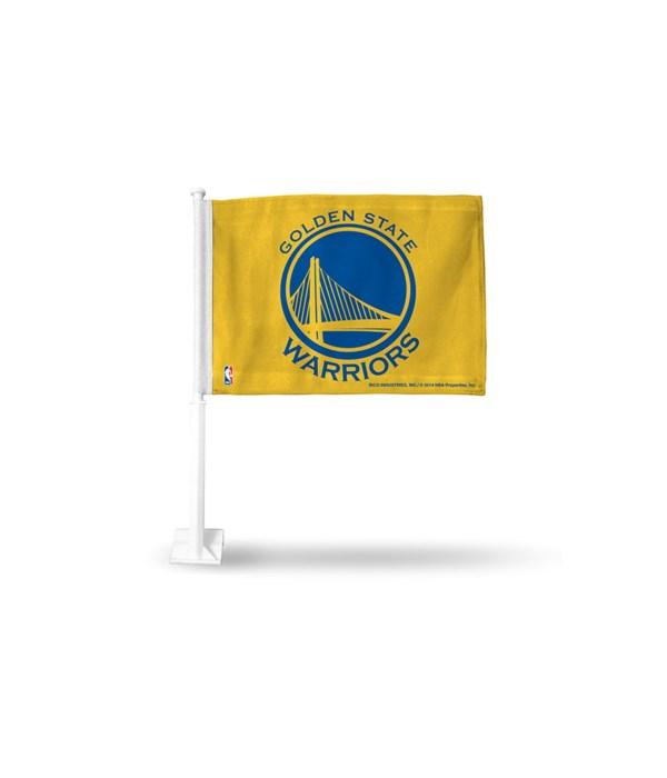 CAR FLAG - GOLDEN STATE WARRIORS