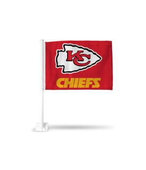 CAR FLAG - KC CHIEFS