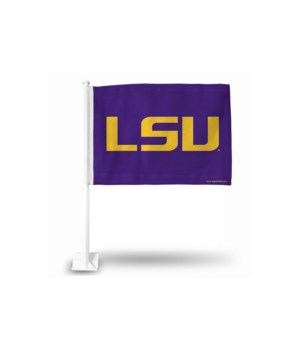 CAR FLAG - LSU TIGERS
