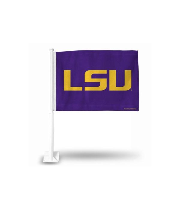 CAR FLAG - LSU TIGERS