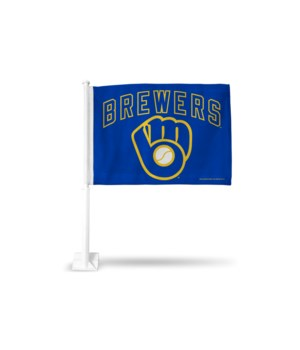 CAR FLAG - MIL BREWERS