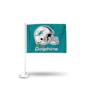 CAR FLAG - MIA DOLPHINS